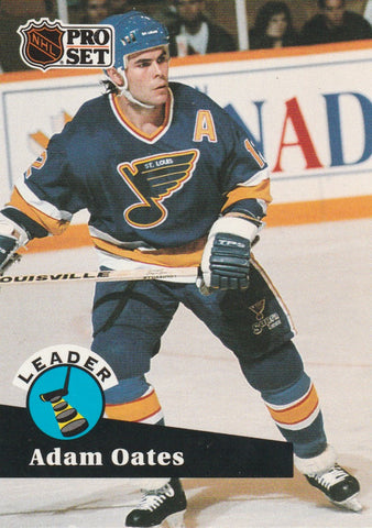 Adam Oates 1991-92 Pro Set Hockey #CC7