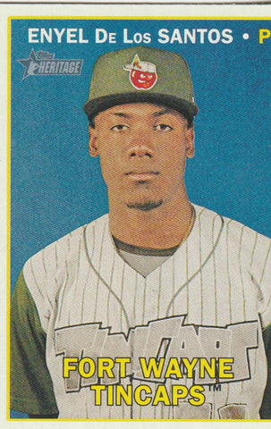 Enyel De Los Santos 2016 Topps Heritage Minor League Edition #60
