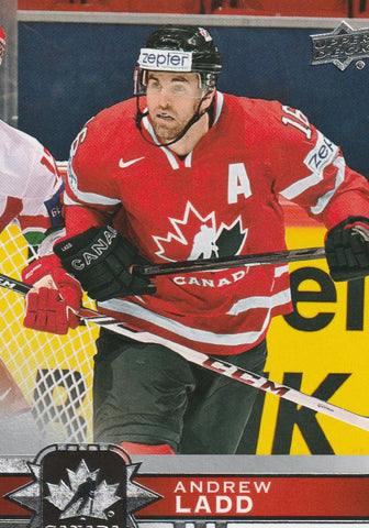 Andrew Ladd 2017-18 Upper Deck Team Canada #12