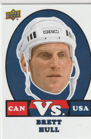Brett Hull 2017-18 Upper Deck Team Canada Hockey Vs. VS-23