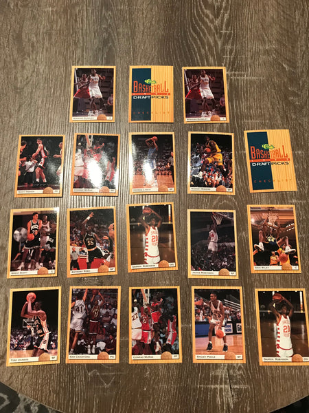 1993-94 Classic Draft Picks Basketball Lot of 18 Cards #9