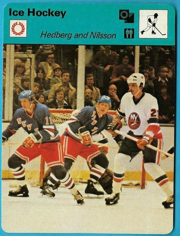 Anders Hedberg & Ulf Nilsson 1979 SPORTSCASTER 71-12