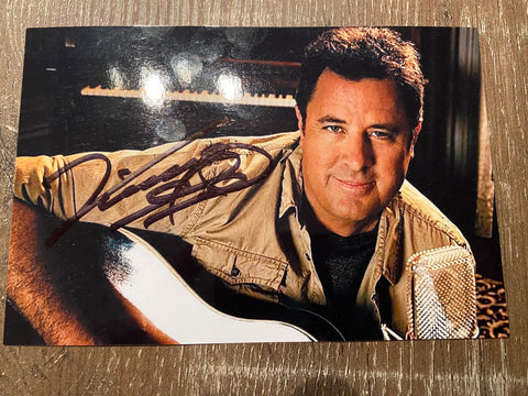 Vince Gill Autographed 4x6 Photo