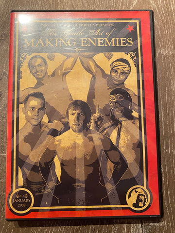 PWG: The Gentle Art of Making Enemies DVD