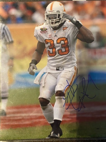 Jonathan Hefney Autograph Tennessee Volunteers 8x10 Photo