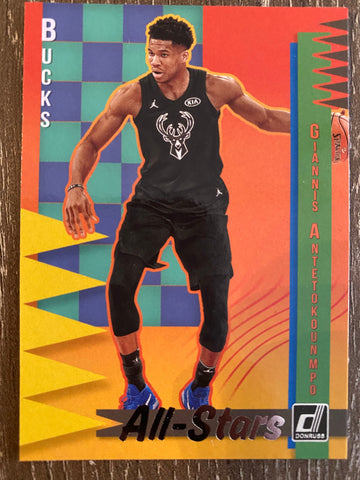 Giannis Antetokounmpo 2018-19 Panini Donruss - All-Stars #14