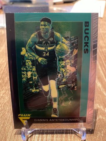 Giannis Antetokounmpo 2019-20 Panini Chronicles Flux #598 Milwaukee Bucks