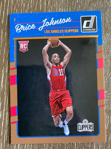 Brice Johnson 2016-17 Donruss Basketball Rookie Card #170