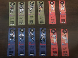 All-Pro Sports 1996-97 Readers Club Bookmarks