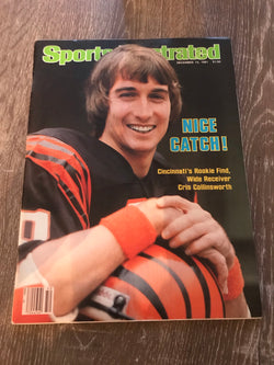 Sports Illustrated December 14, 1981 - Cris Collinsworth