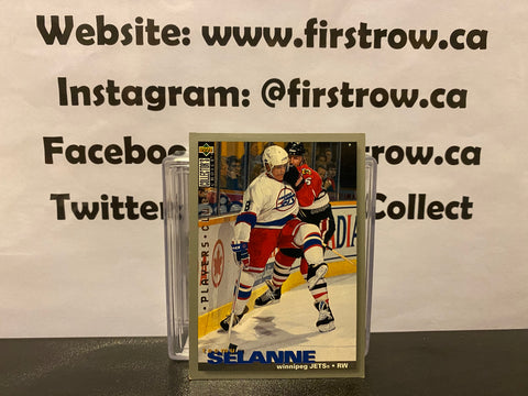 Teemu Selanne 1995-96 Upper Deck Collector's Choice Player's Club #244