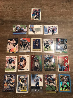 Eddie George Tennessee Titans 19 Card Lot