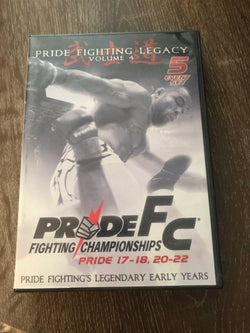 Pride FC: Pride Fighting Legacy Volume 4 - 5-Disc Set