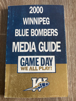 Winnipeg Blue Bombers 2000 Media Guide