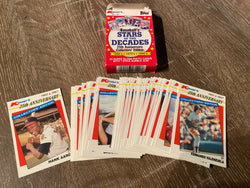 1987 Topps Kmart STARS OF THE DECADES 25th Anniversary Baseball (33) Card Set