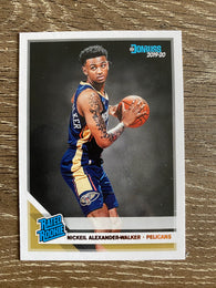 Nickeil Alexander-Walker 2019-20 Donruss Rated Rookie RC #216 Pelicans