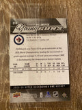 CONNOR HELLEBUYCK  2015-16 Upper Deck YOUNG GUNS OVERSIZE JUMBO ROOKIE CARD #214 WINNIPEG JETS