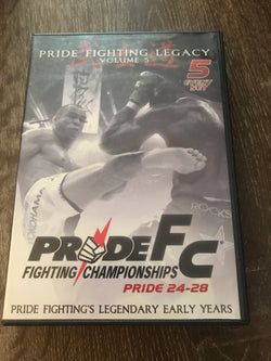 Pride FC: Pride Fighting Legacy Volume 5 - 5-Disc Set