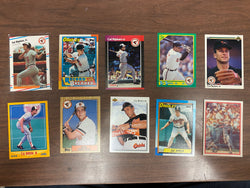 Cal Ripken Jr. 10 Baseball Card Lot