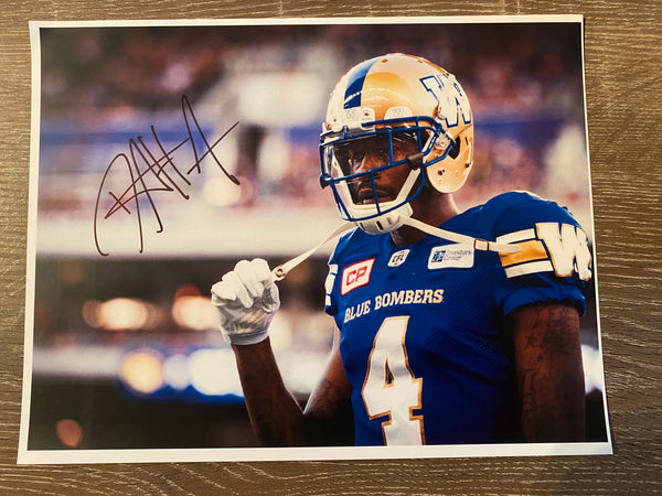 Darvin Adams Autographed 8x10 Photo