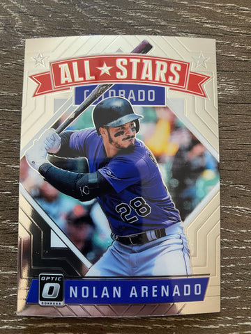 Nolan Arenado 2018 Donruss Optic  - ALL-STARS  - #175