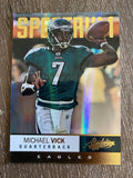 Michael Vick 2012 Absolute Football Spectrum Gold #72 /25