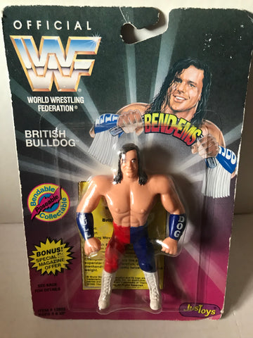 British Bulldog Davey Boy Smith WWF Bend-Ems