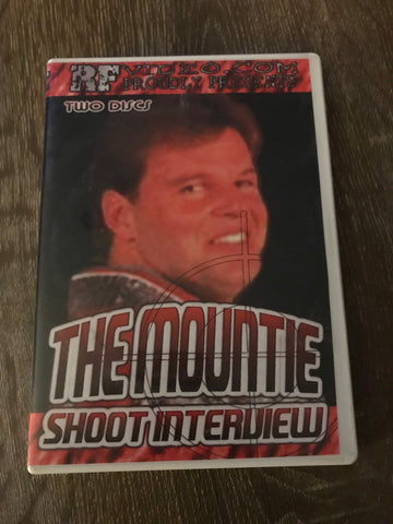 The Mountie Jacques Rougeau RF Video Shoot Interview DVD