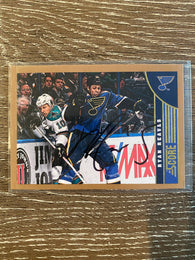 Ryan Reaves Autograph 2013-14 Score Gold Card