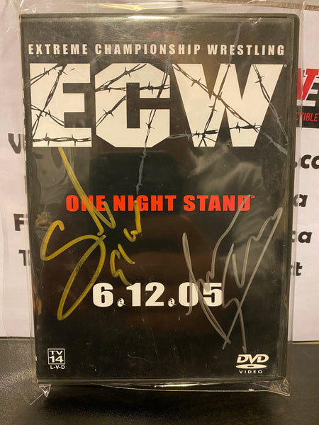 Sabu & Lance Storm Autographed ECW One Night Stand DVD