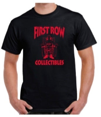 First Row Collectibles T-Shirt (Red & Black)