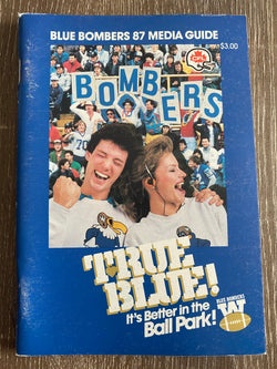 Winnipeg Blue Bombers 1987 Media Guide