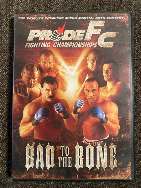 PRIDE FC Fighting Championships Bad to the Bone DVD Silva Frye Coleman Mirko