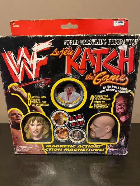 WWF Katch The Game SABLE Stone Cold Steve Austin * NEW IN BOX * VINTAGE 90s