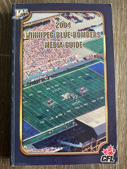 Winnipeg Blue Bombers 2004 Media Guide