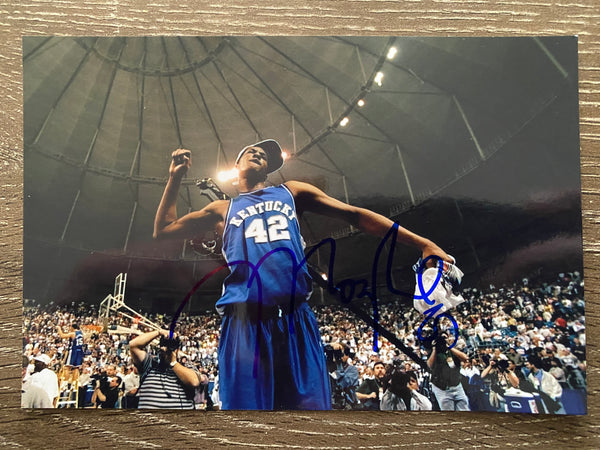 Jamaal Magloire Autograph Kentucky Wildcats 4x6 Photo