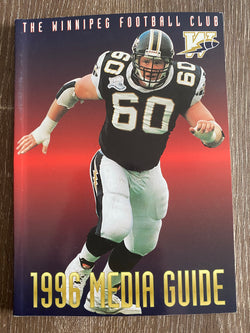 Winnipeg Blue Bombers 1996 Media Guide