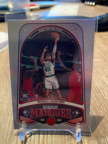 ROMEO LANGFORD 2019-20 Marquee RC #240 Boston Celtics