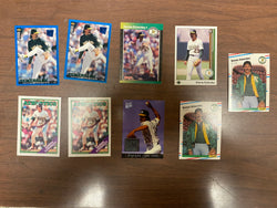 Dennis Eckersley 9 Baseball Card Lot