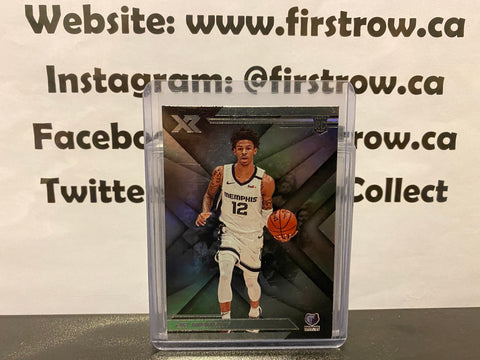 Ja Morant 2019-20 Panini Chronicles XR Grizzlies #272 Rookie Card