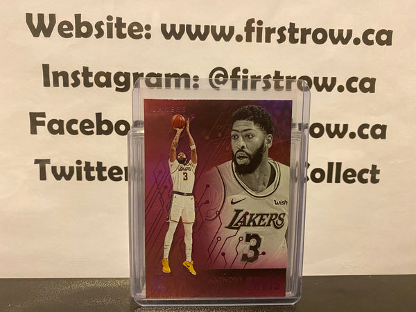 Anthony Davis 2019-20 Chronicles Pink Essentials SP 232 Lakers NBA