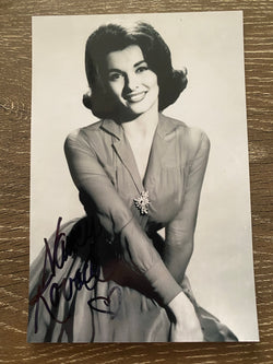 Nancy Kovack Autograph 4x6 Photo