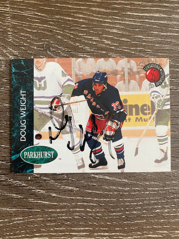 Doug Weight Autographed 1992-93 Parkhurst Hockey Card