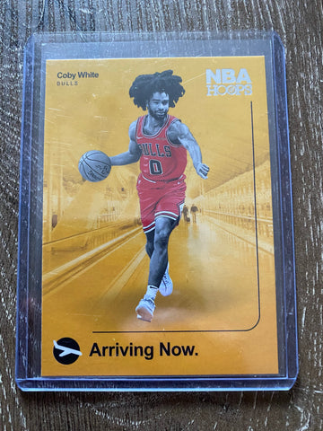 Coby White 2019-20 Panini NBA Hoops Arriving Now Insert Card #16