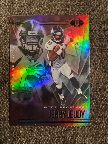 Jerry Jeudy 2020 Illusions Football Rookie Card #17
