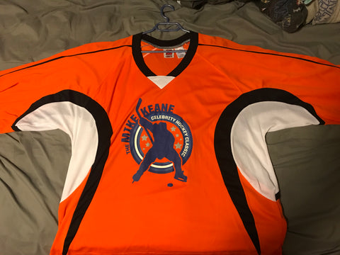 Game Used Mike Keane Celebrity Hockey Classic Jersey XXL *FREE SHIPPING IN CANADA*