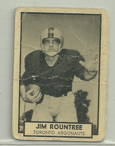 Jim Rountree 1962 Topps CFL #144