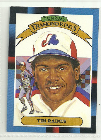 Tim Raines 1988 Leaf/Donruss #2