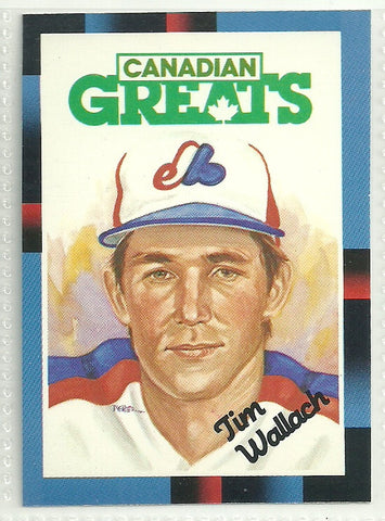 Tim Wallach 1988 Leaf/Donruss #255