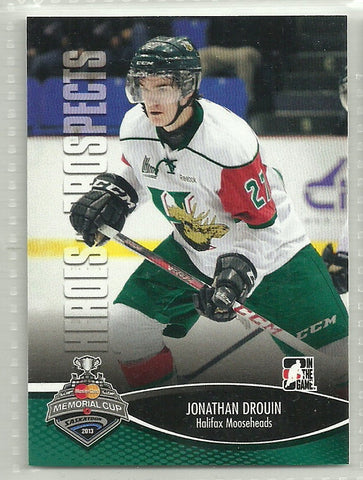 Jonathan Drouin 2012-13 In the Game Heroes and Prospects Memorial Cup #MC-02